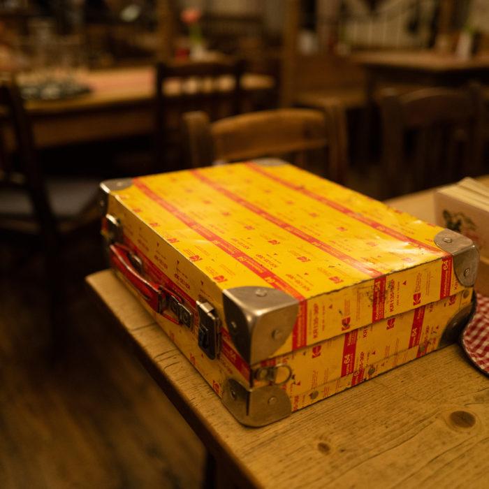 Original Kodak Kodachrome 64 Koffer.